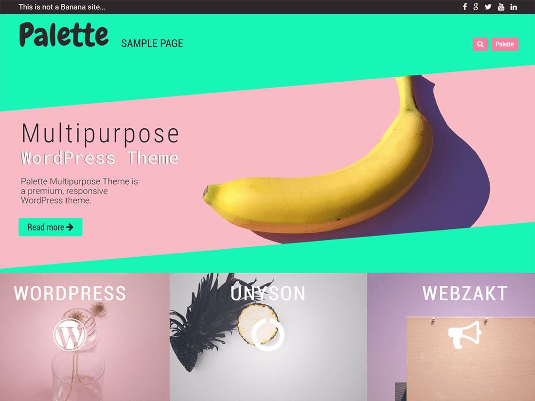 free multipurpose WordPress themes