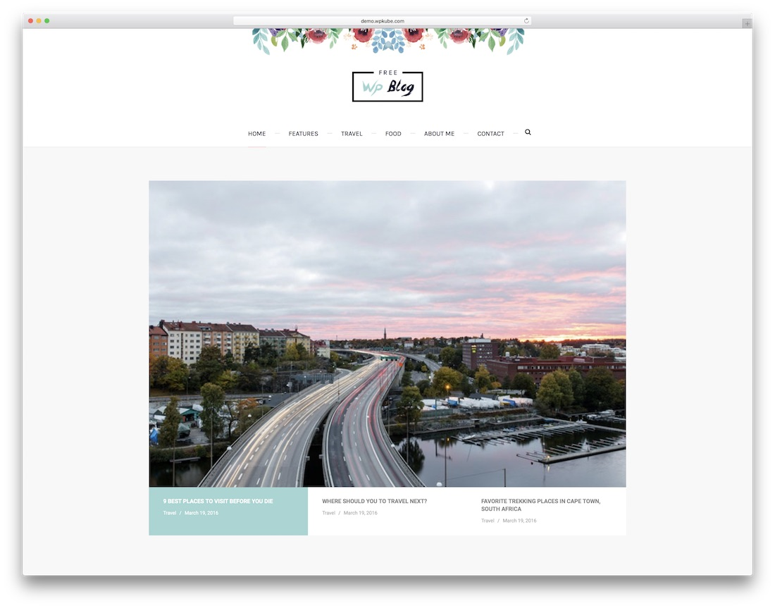 palmas website template