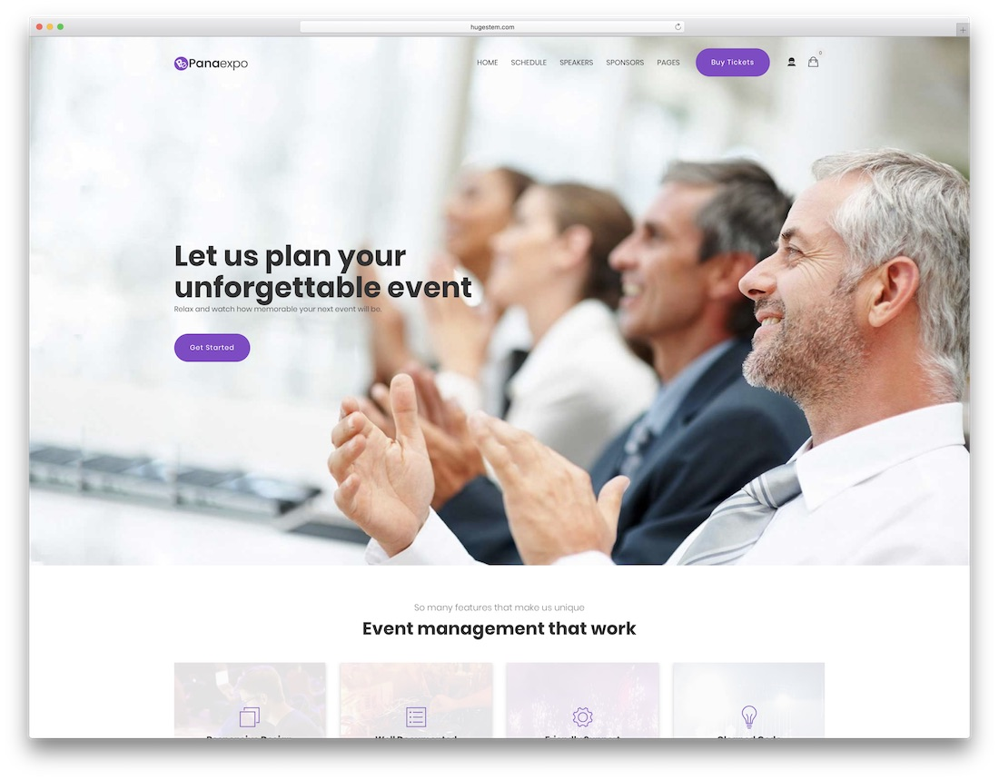 pana drupal business template