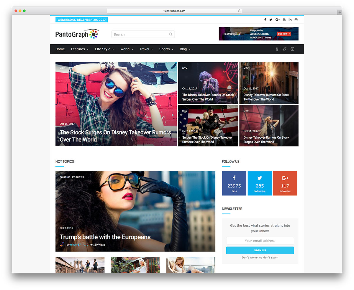 30+ Amazing Magazine WordPress Themes 2019 - Colorlib