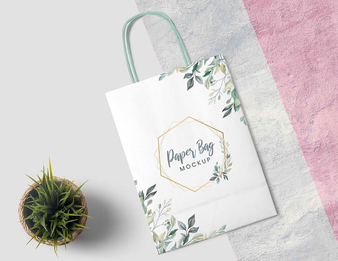 23 Best Paper Bag Mockup Templates 2019
