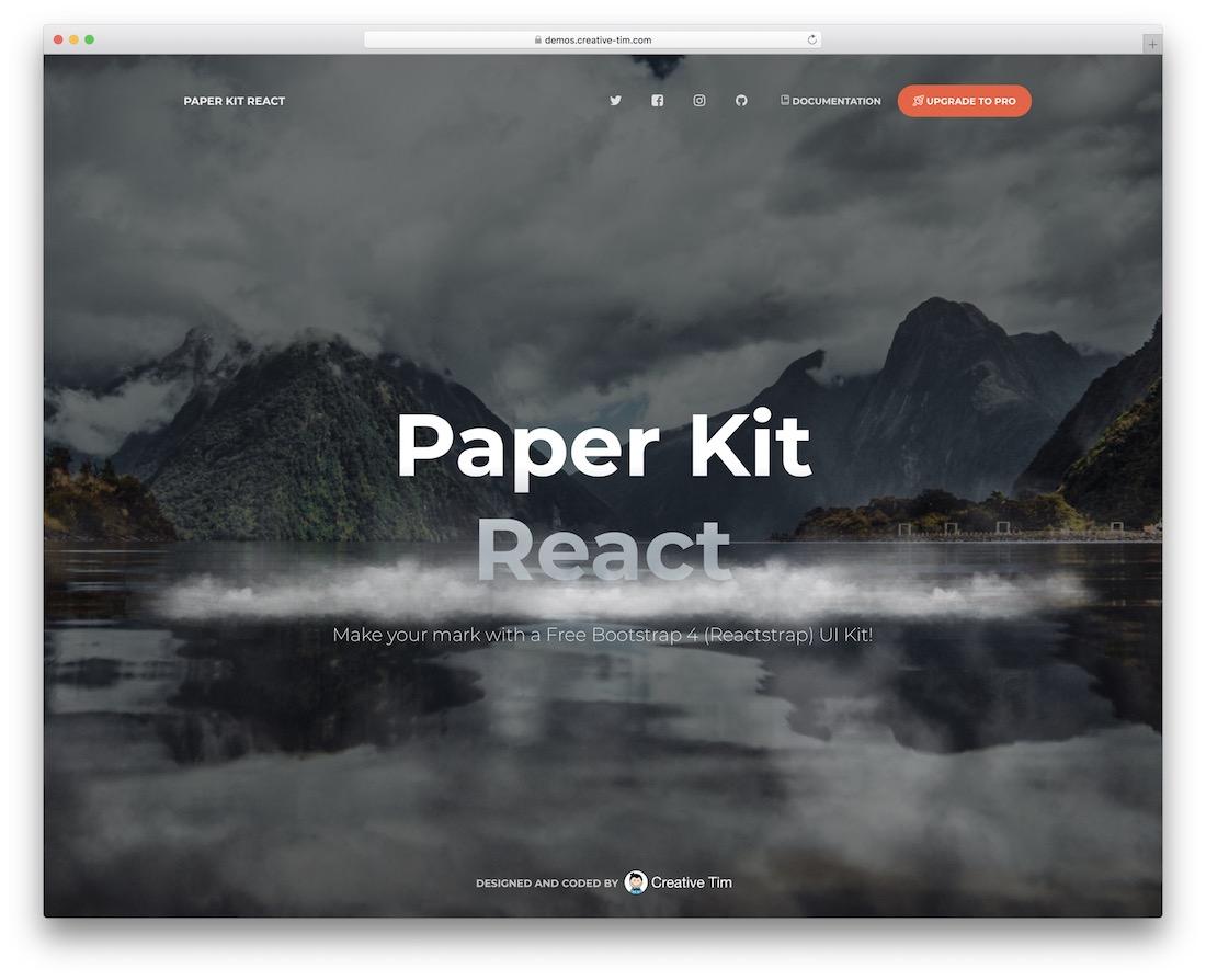 paper kit react free