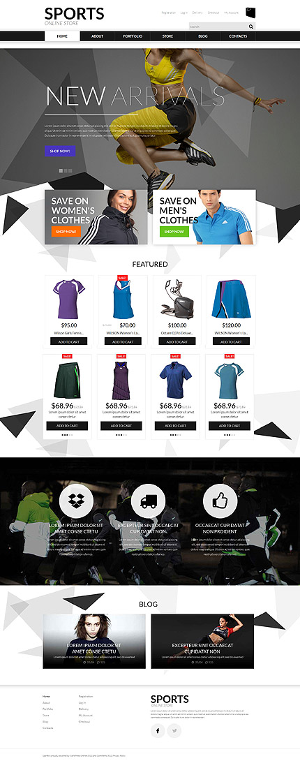 Sports Apparel WooCommerce Theme