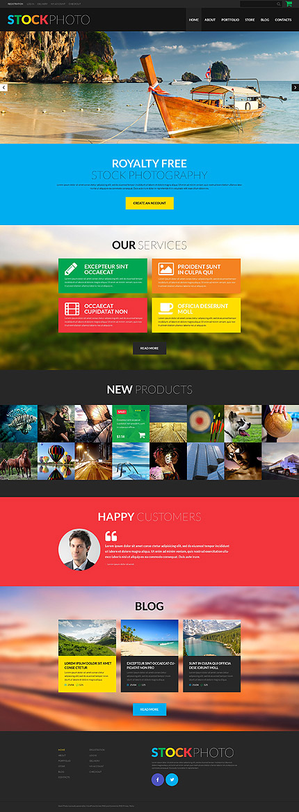 Photo and Video WooCommerce Theme