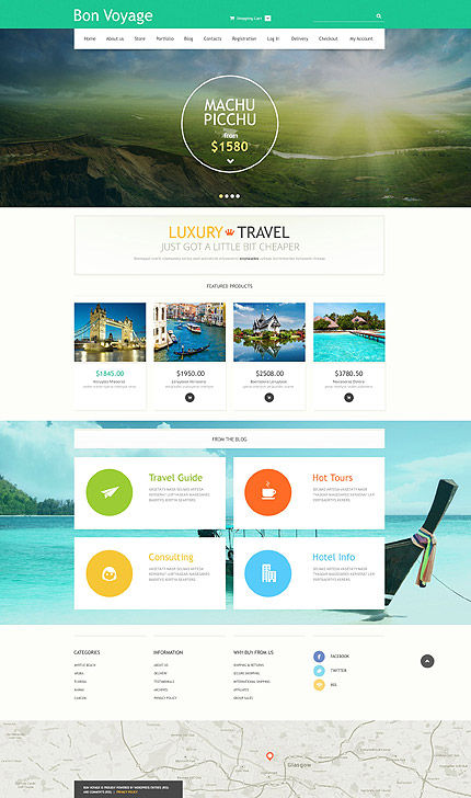 Travel Agency WooCommerce Theme