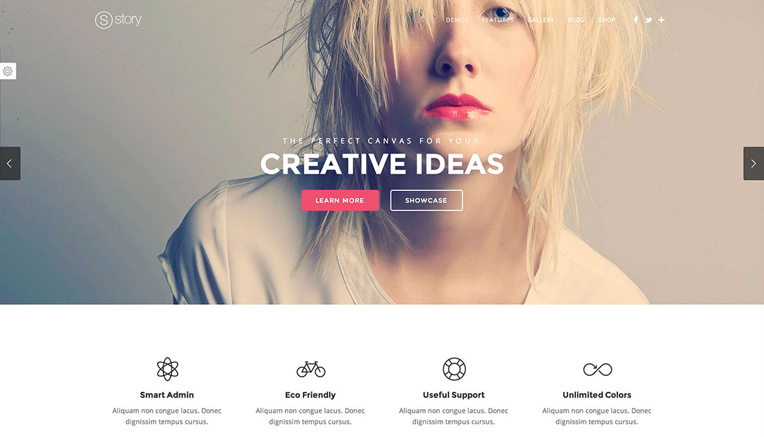 35 Stunning Parallax Scrolling WordPress Themes For Agencies, Designers, Apps And Portfolio 2018