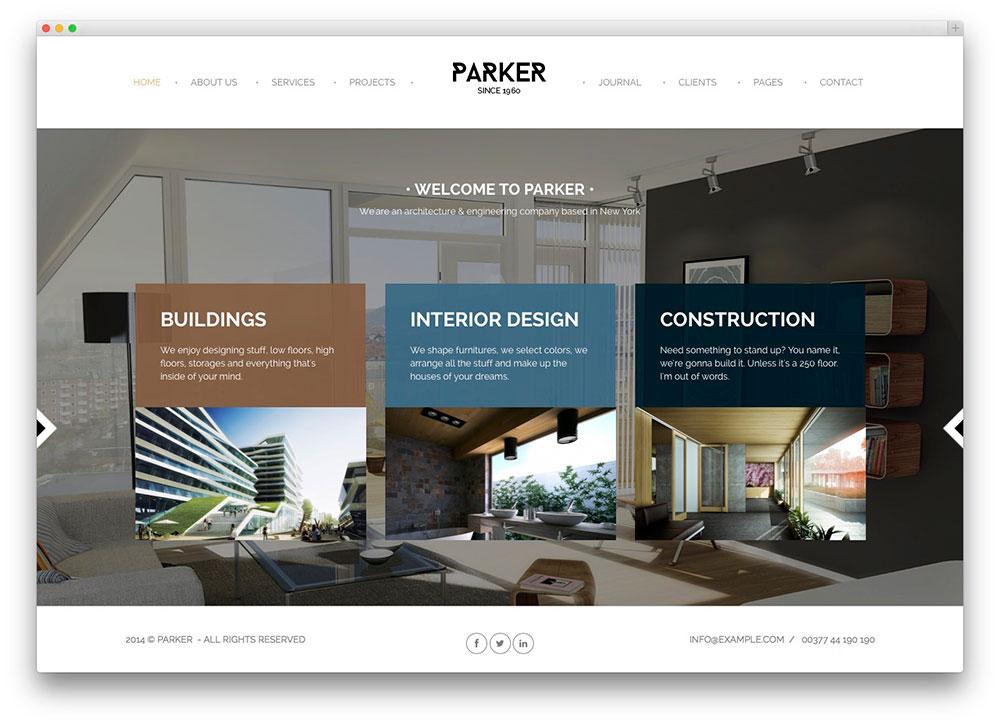 portfolio design layout