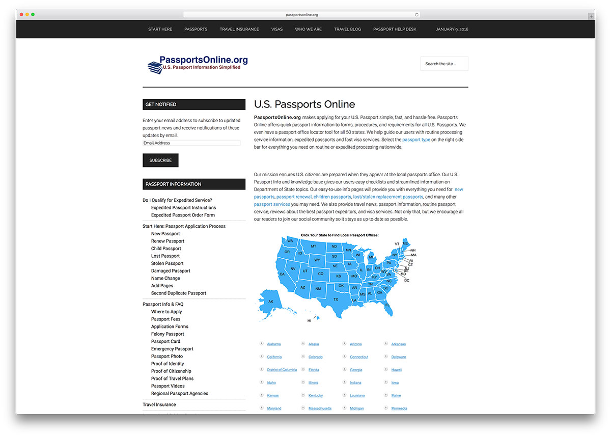 passportsonline-service-website-with-visual-composer