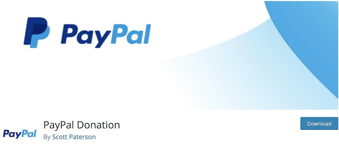 paypal donation wordpress plugin