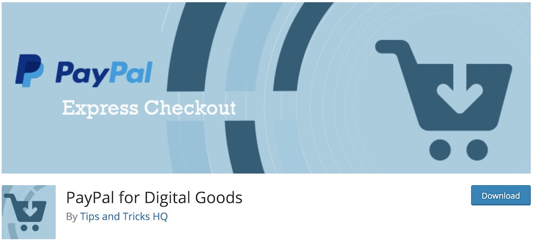 paypal for digital goods wordpress plugin
