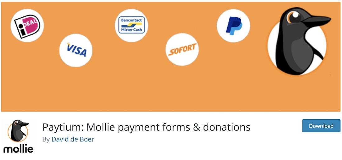 paytium free wordpress donations plugin