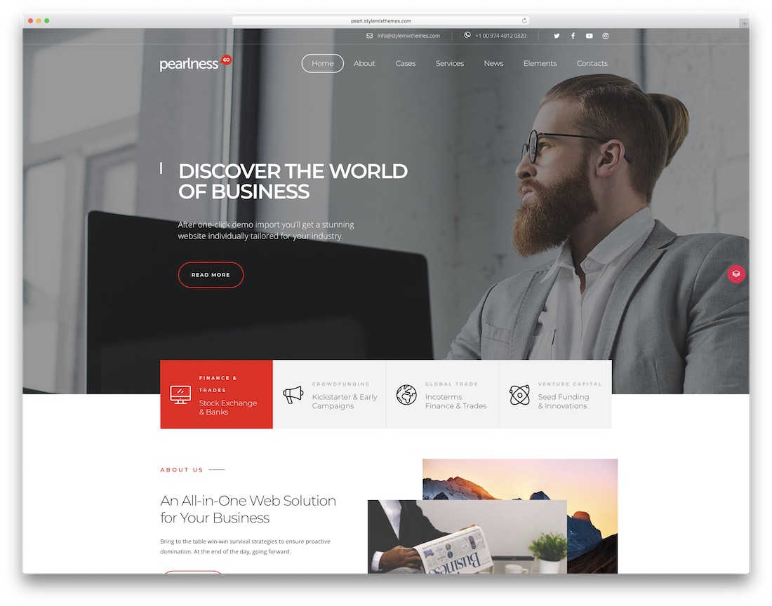 63 Best Clean WordPress Themes 2018 - Colorlib