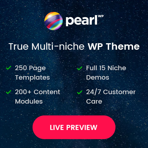 Pearl Themes on Colorlib