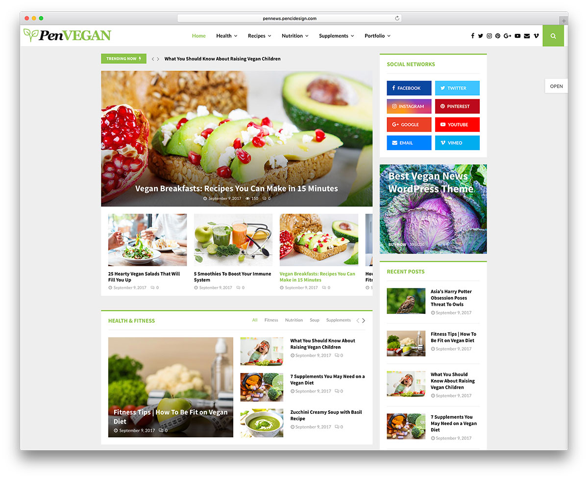 35 Awesome Food Wordpress Themes To Share Recipes 2018 Colorlib