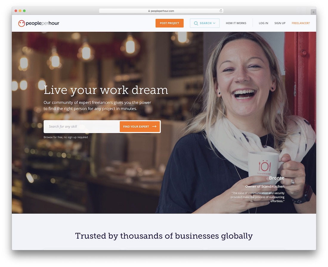 peopleperhour freelance marketplace