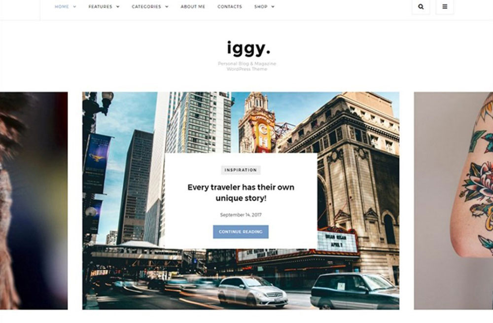 lean Blog & Magazine WordPress Theme