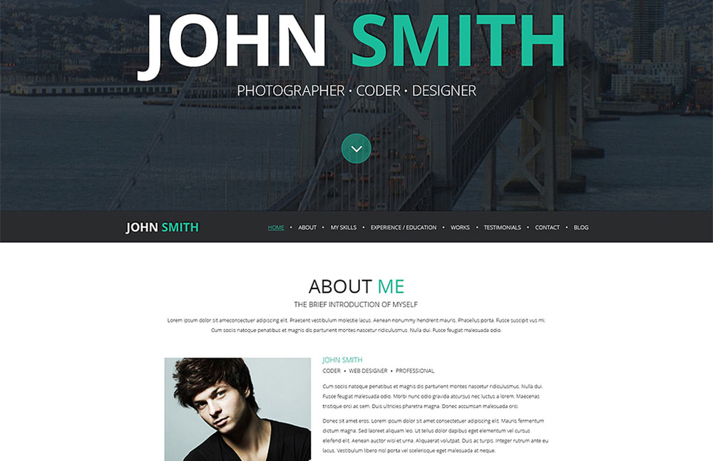 V WordPress Theme