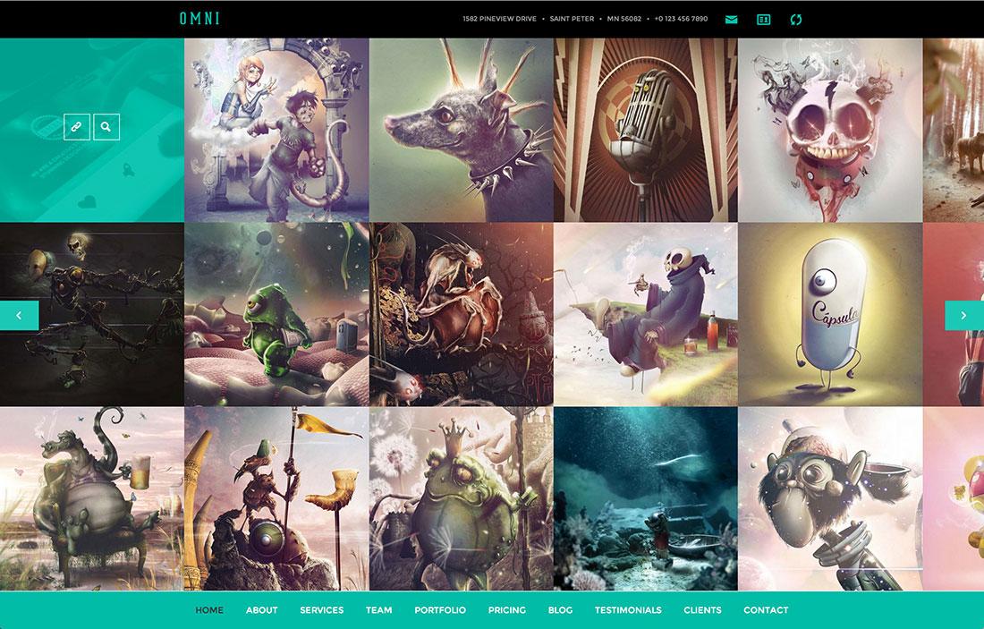 Portfolio Themes Wordpress 2015 Portfolio Wordpress Themes