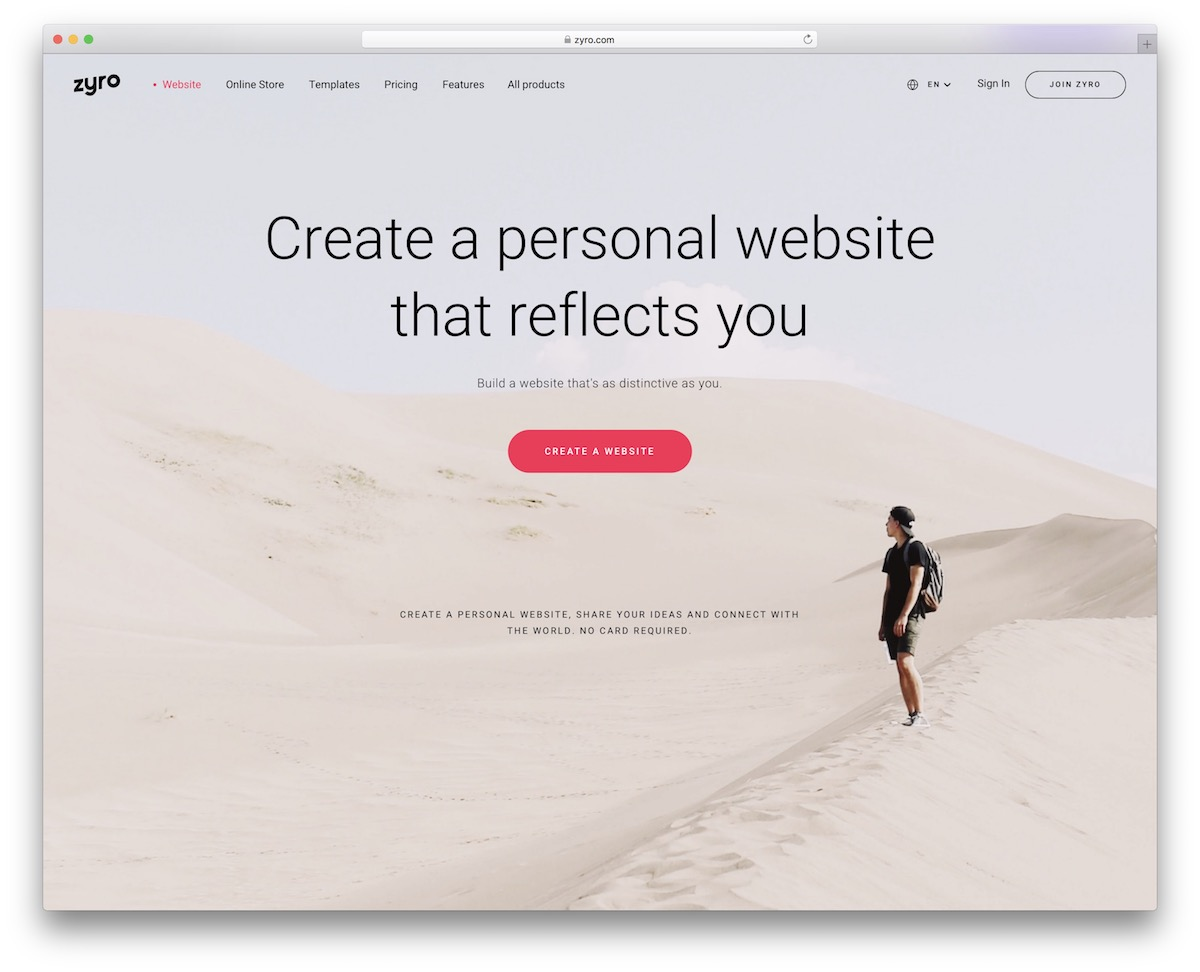 Personal Website Builder