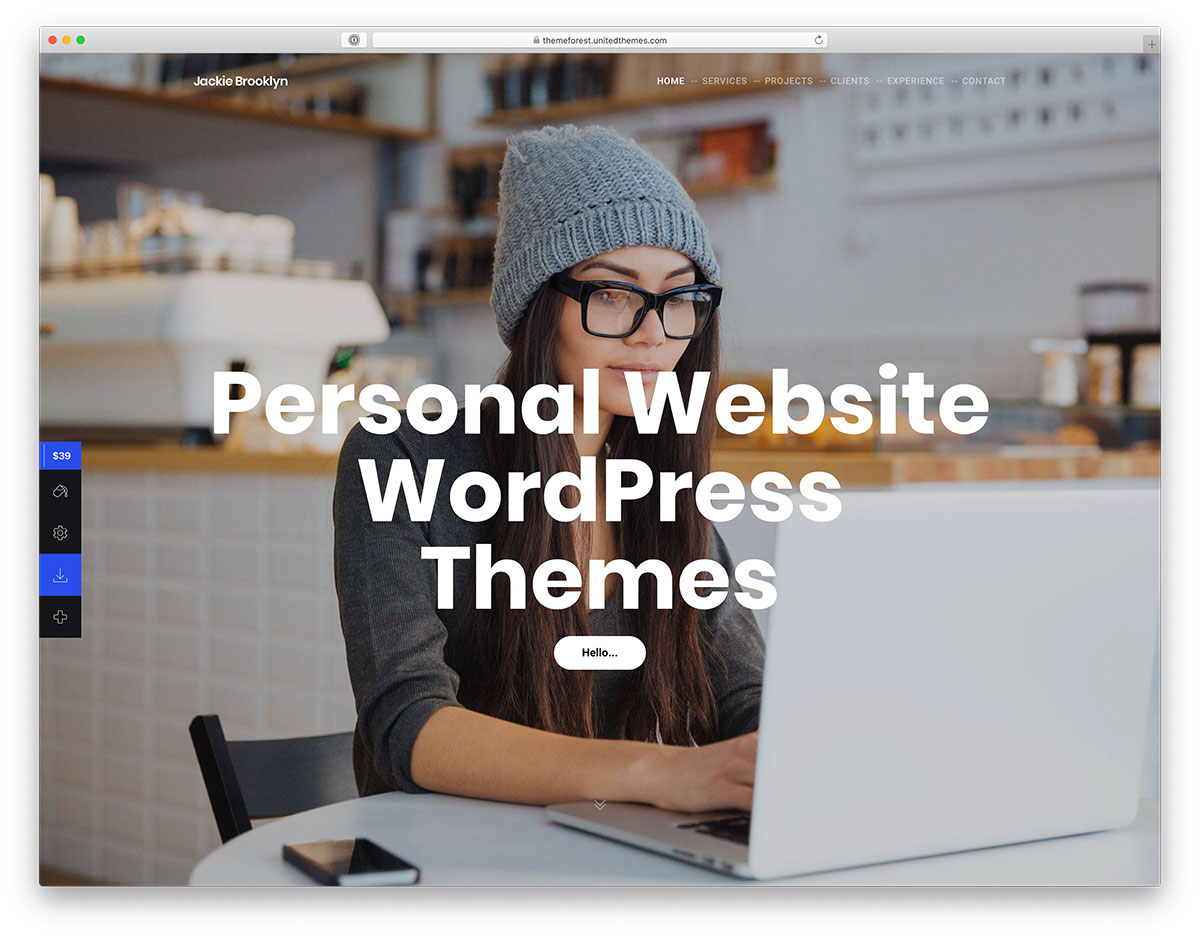 18 Best Personal Branding WordPress Themes For Personal Websites 2019