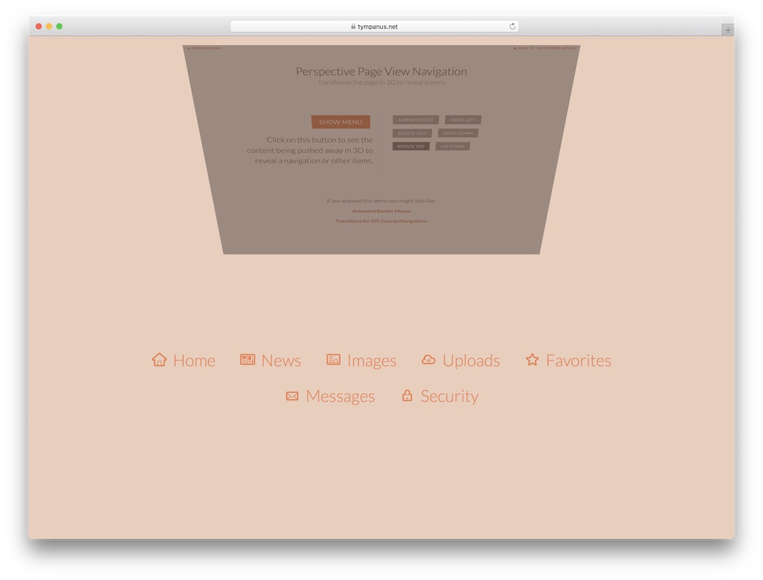 19 Best Free Website Menu Templates For Modern Creative Sites 2018