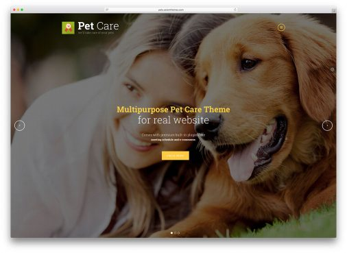 Pet Wordpress Themes