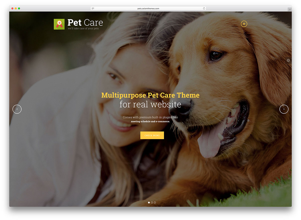 20 Cutest Animals And Pets WordPress Themes 2017