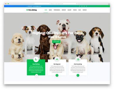 PetSitting Free Template