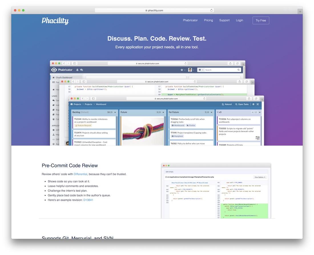 phabricator code quality tool