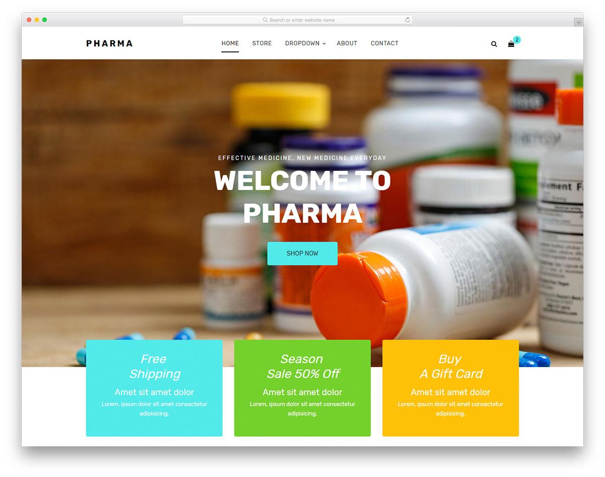 Pharma Free Template