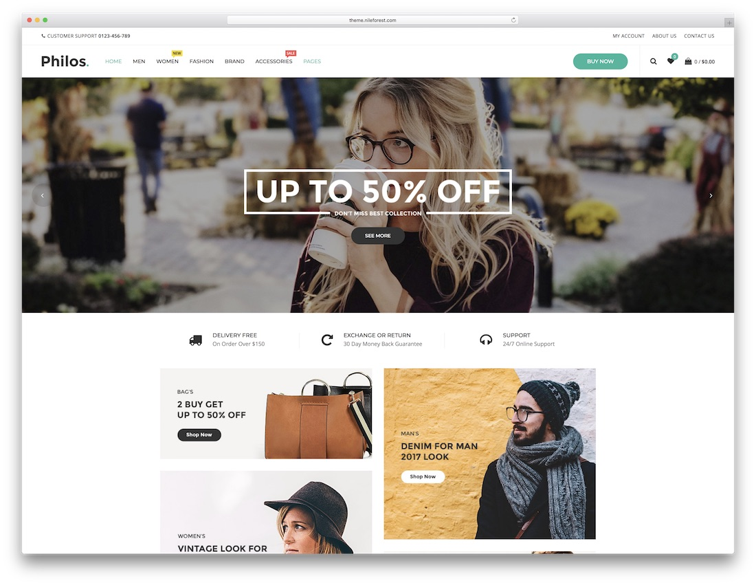 philos cheap wordpress theme