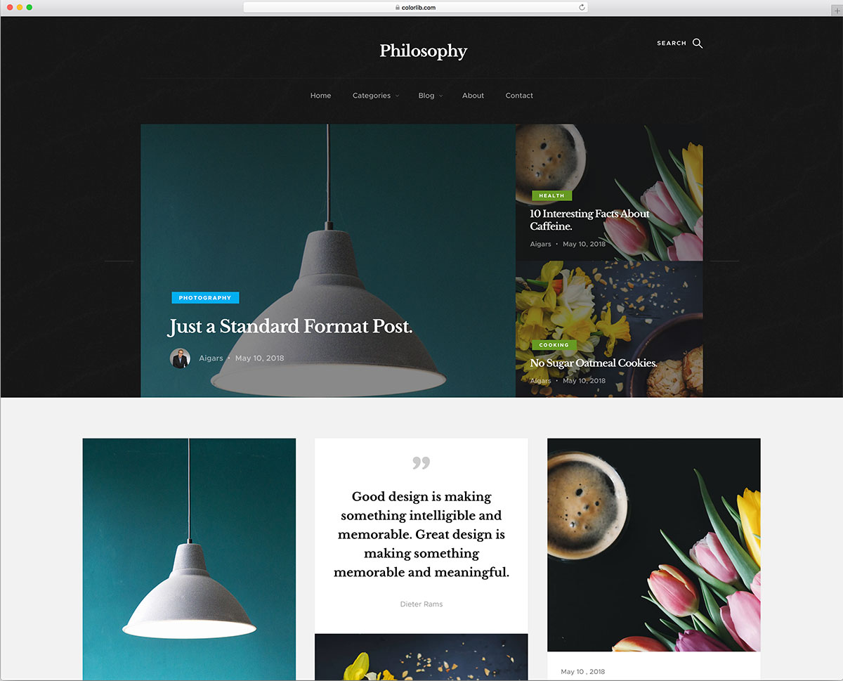 philosophy-free-wordpress-blog-theme