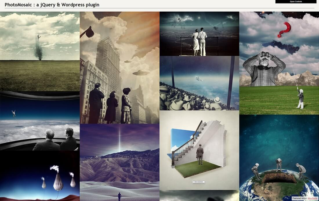 photomosaic wordpress gallery plugin