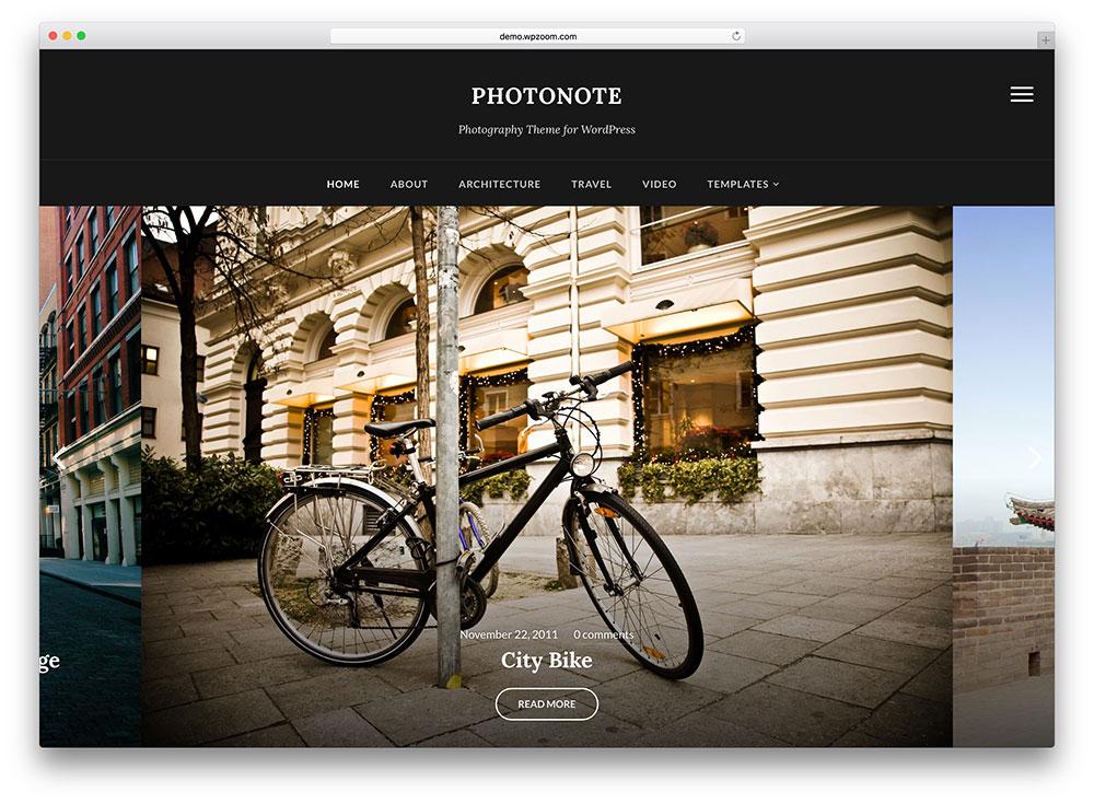 photonote - dark photography gallery