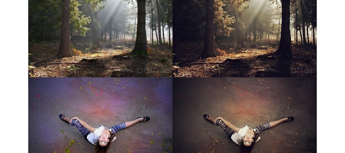 copper photoshop action