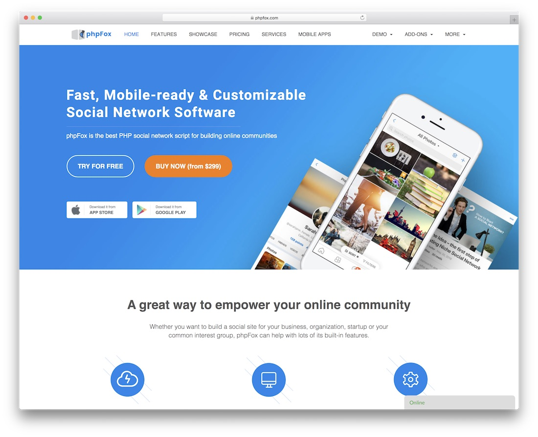 phpfox community website builder
