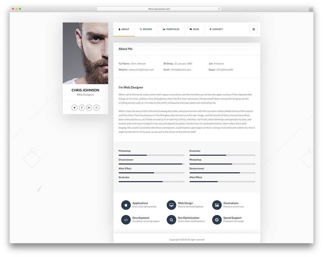 picard wordpress theme for programmers