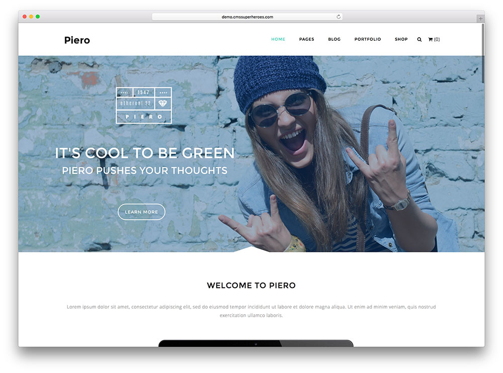 piero - classic multipurpose theme