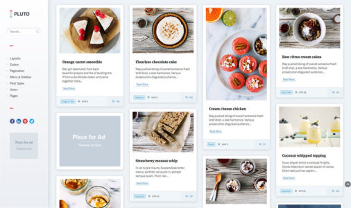 WordPress Pinterest Style Themes