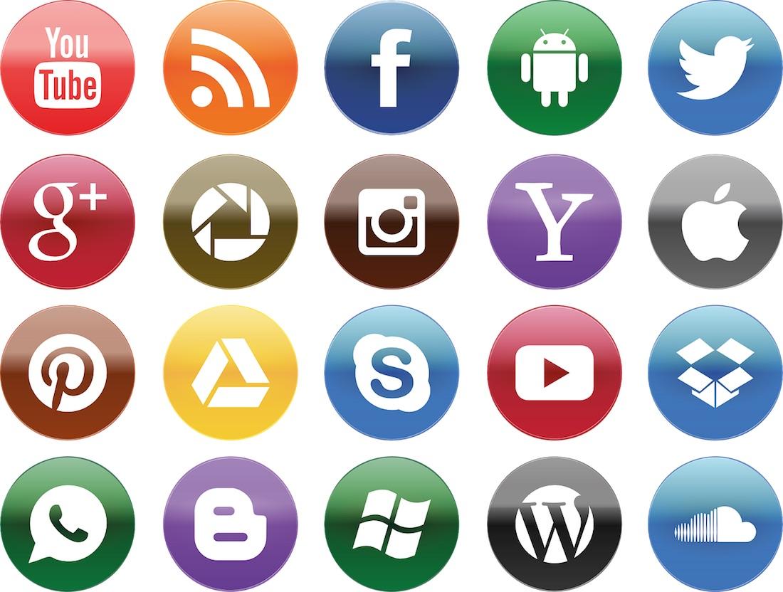 pixabay social media icons