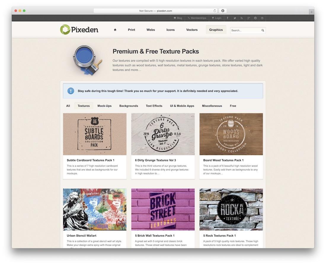 pixeden free textures resource