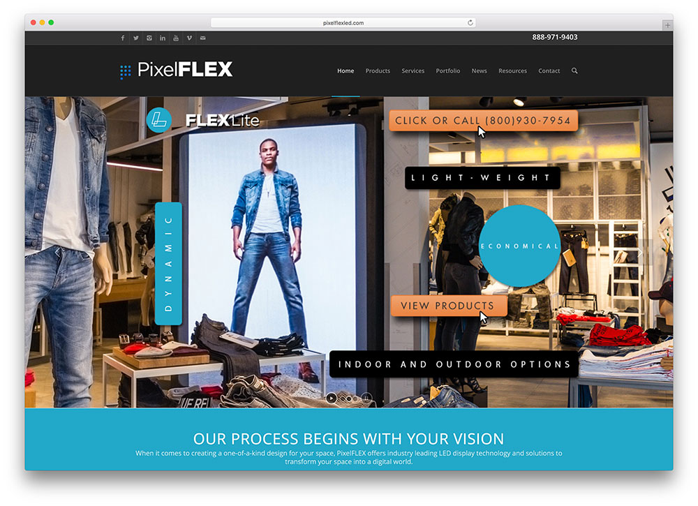 pixelflexled-small-business-site-example-with-enfold