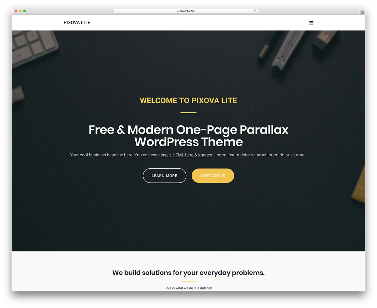 30 Awesome Free Responsive Wordpress Themes 2018 Colorlib