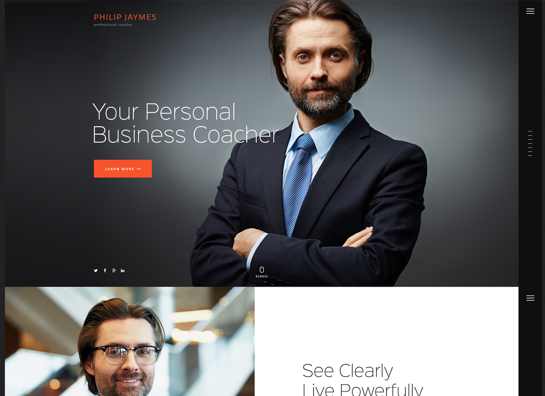PJ - Life & Business Coaching WordPress Theme