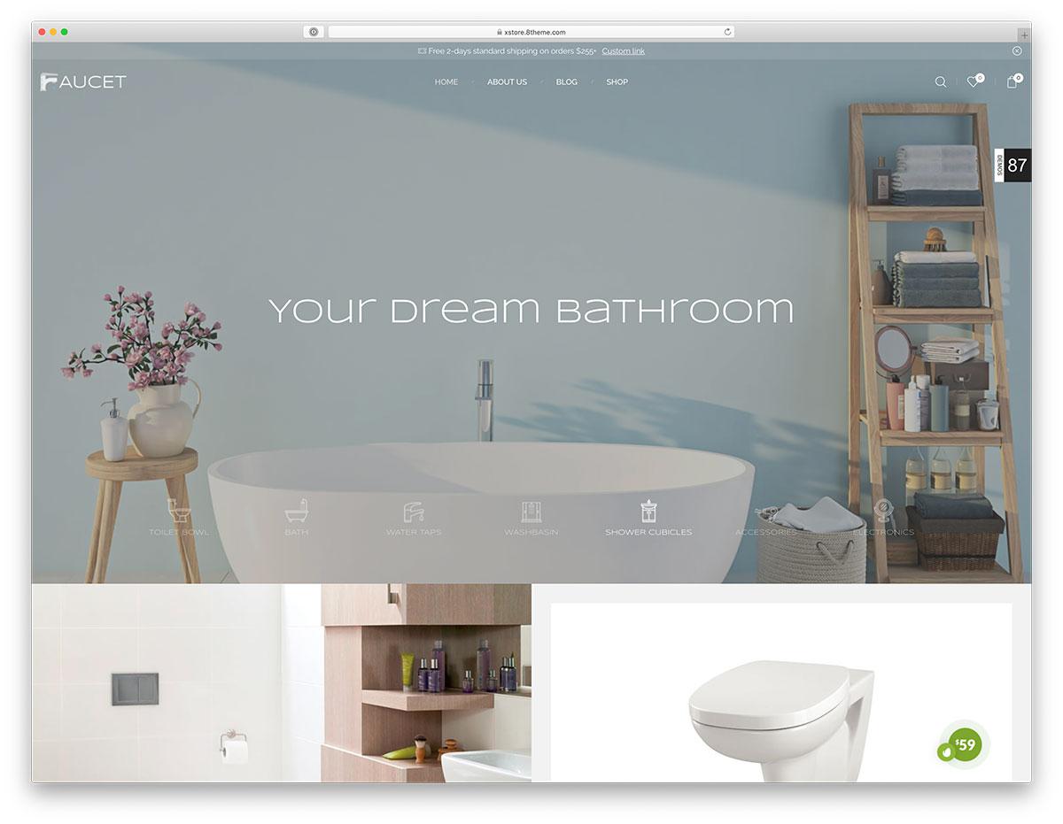 plumbing ecommerce theme