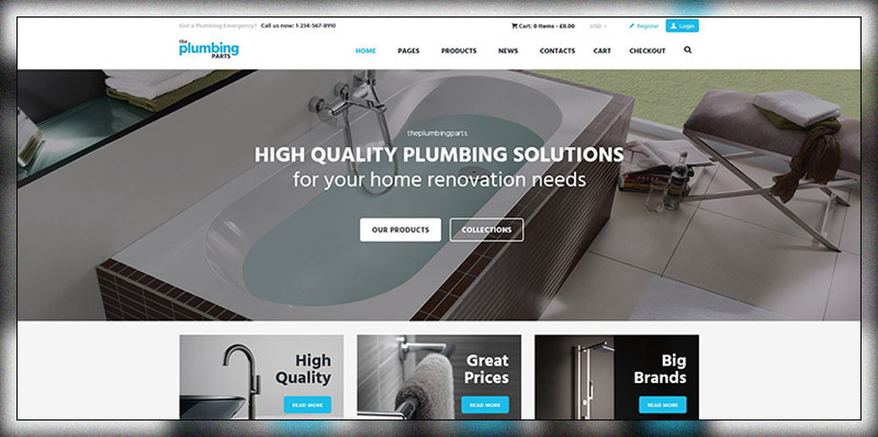 Plumbing and Building Parts, Tools & Accessories Store