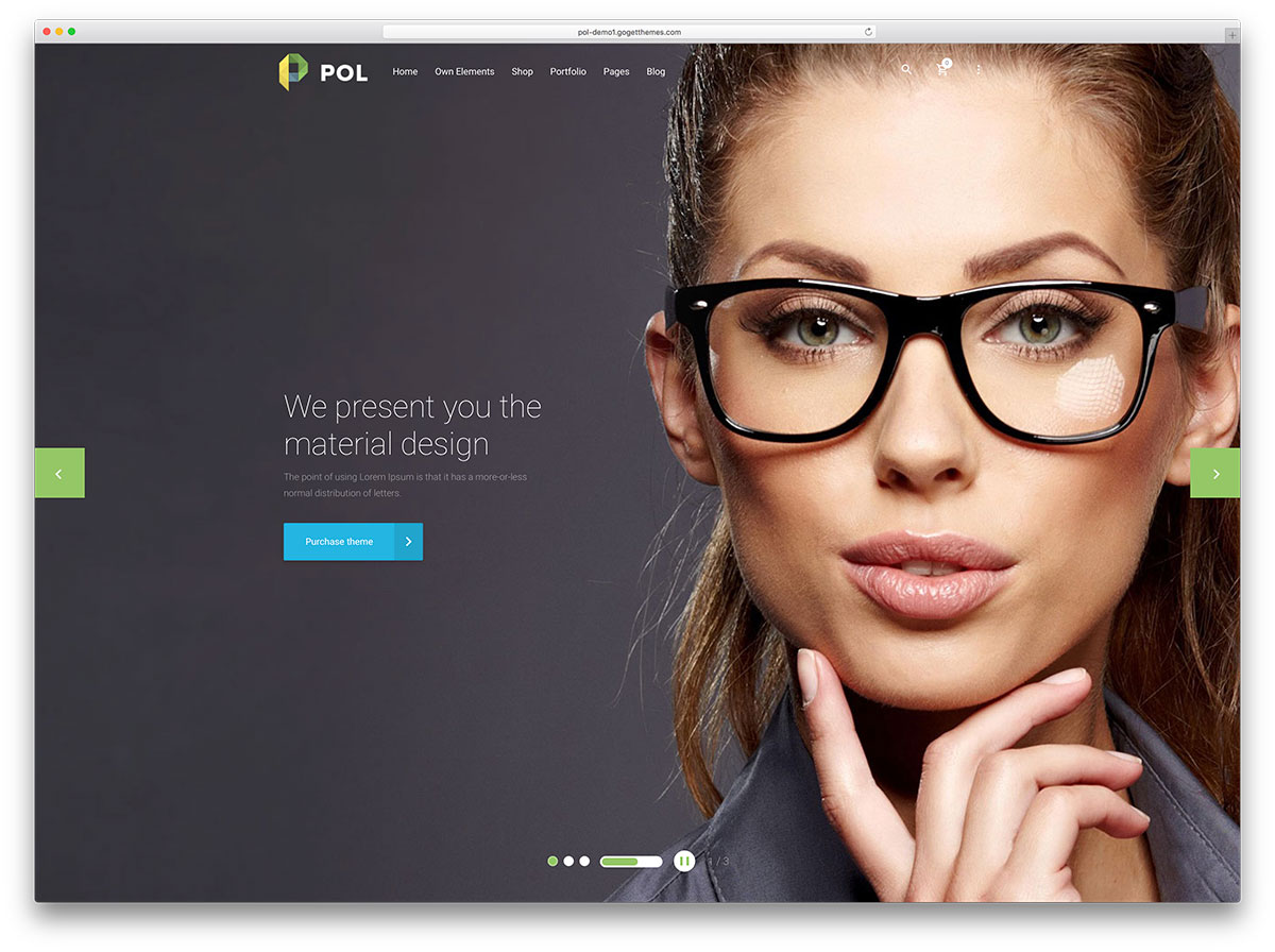 pol-material-design-multipurpose-wordpress-theme