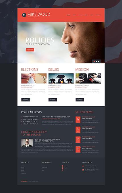 Politics Board WordPress Theme