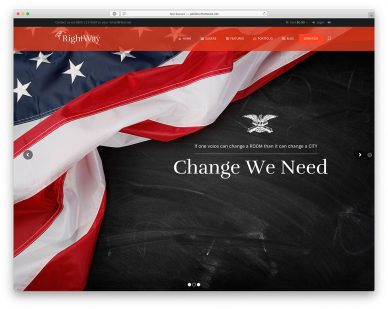 Political WordPress Themes