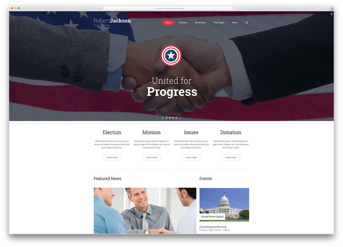 politics-simple-politician-wordpress-theme